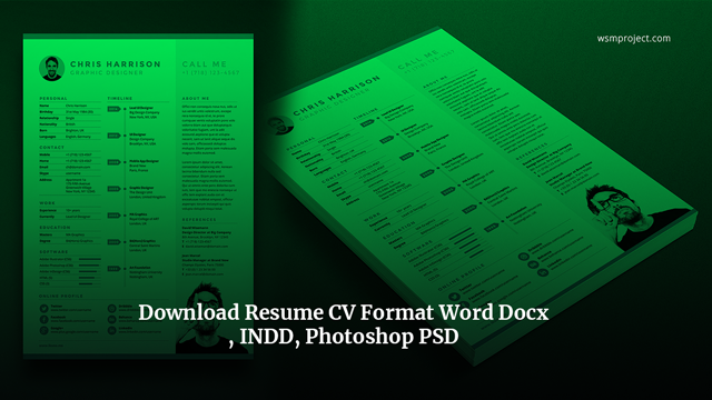 Download-Resume-CV-Format-Word-Docx-INDD-Photoshop-PSD