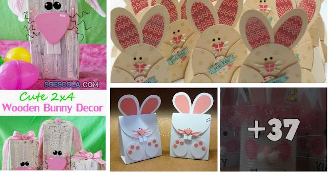 Sugestões de lembrancinhas para a Páscoa com moldes