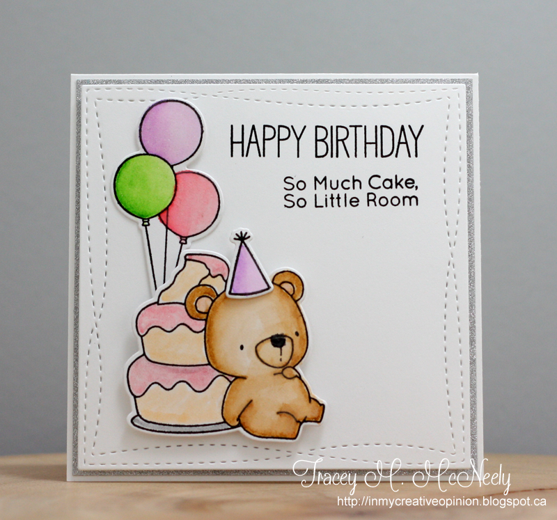 In My Creative Opinion Have A Beary Happy Birthday