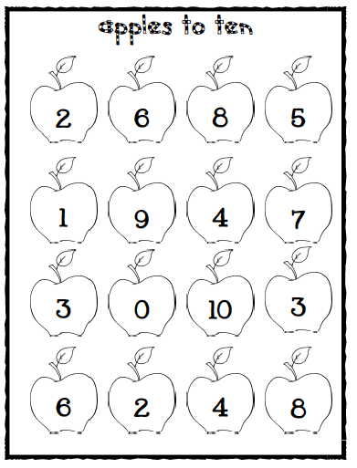 Sarah's First Grade Snippets: Apple math games