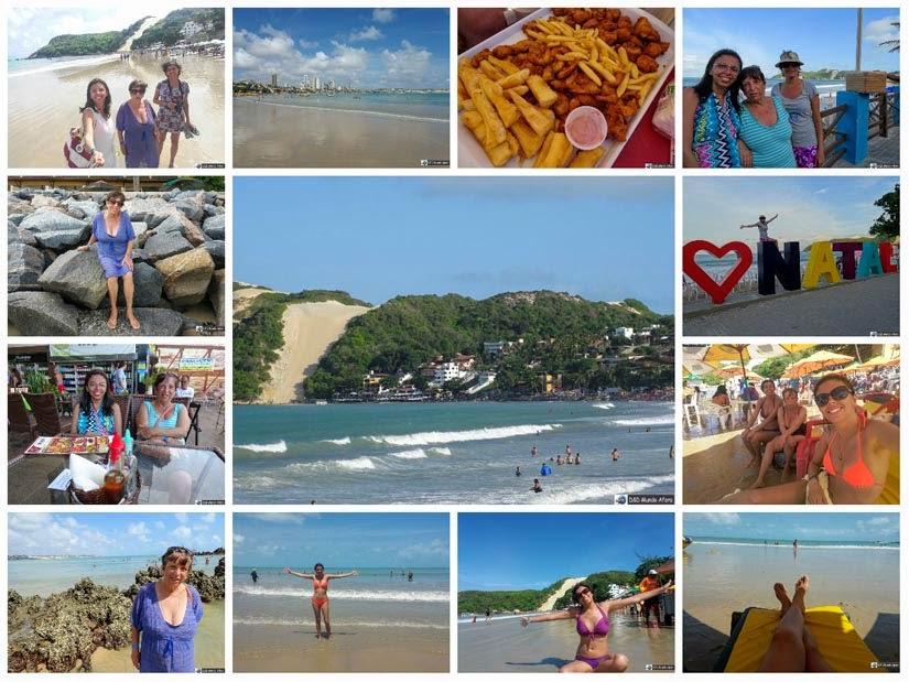 Praia de Ponta Negra - Diário de Bordo - Natal, Rio Grande do Norte
