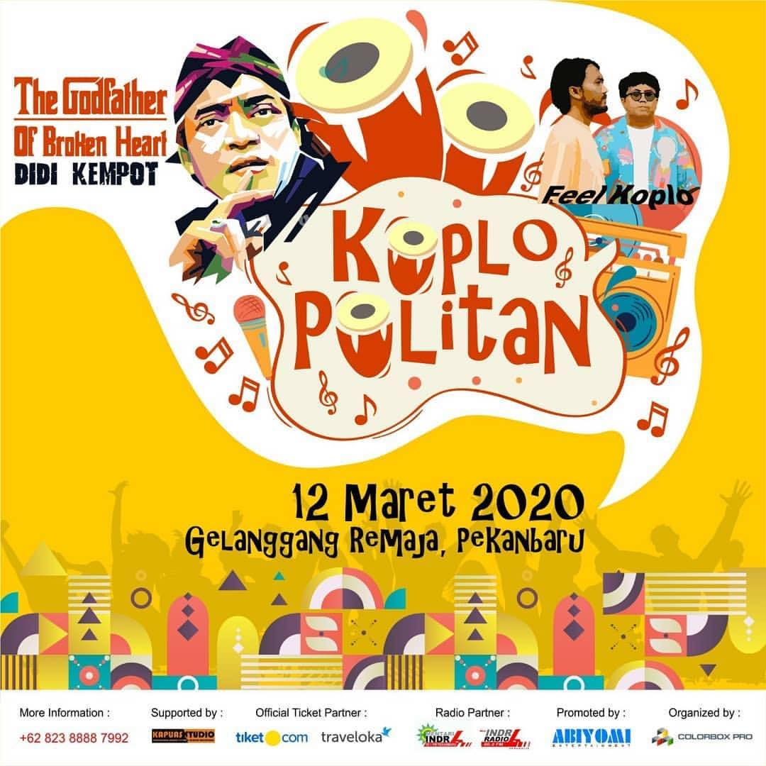 Konser Ambyar Didi Kempot Pekanbaru Riau Koplo Politan Promotion
