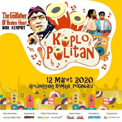 Konser Ambyar Didi Kempot Pekanbaru Riau Koplo Politan