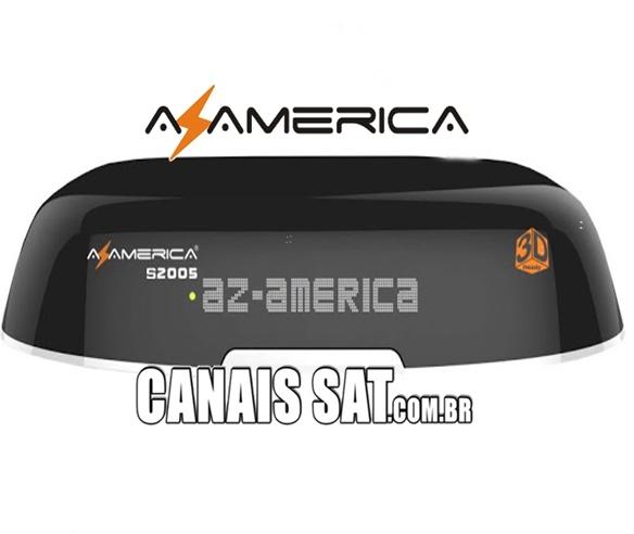 Azamerica S2005 HD nova Atualização V1.09.21658 - 22/06/2020