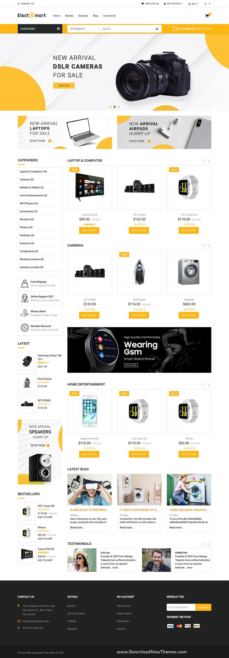 Best eCommerce Opencart Theme