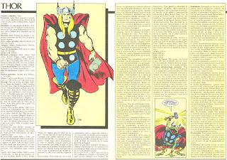 Thor Ficha Superheroe