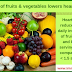 Make way for plenty of fruits & vegetables to keep heart disease at bay!