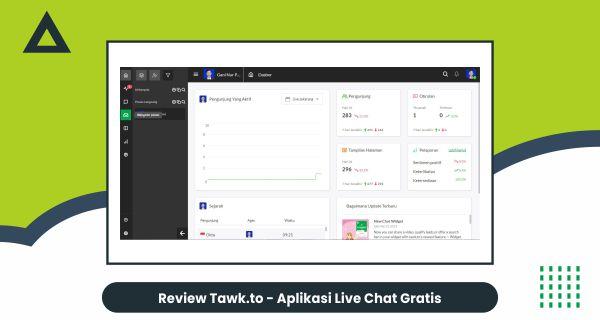 Review Tawk.to - aplikasi live chat gratis