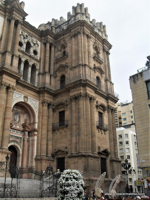 la manquita es la catedral de Málaga