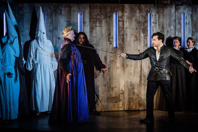 Verdi: Don Carlo - Clive Bayley, Leonardo Capalbo - Grange Park Opera 2019 (Photo Robert Workman)
