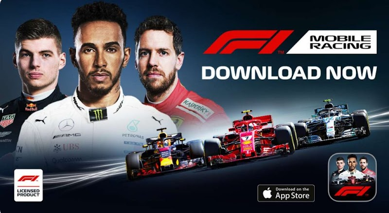 F1 Mobile Racing v1.3.9 Apk Mod+Data