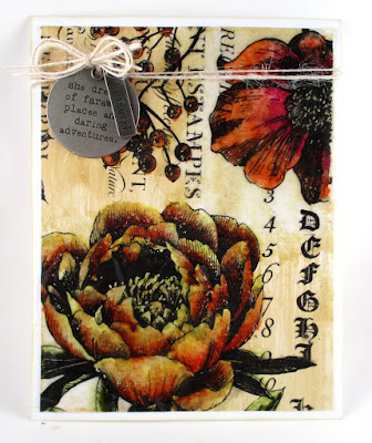Seth Apter Vintage Bees Wax Ranger Tim Holz Collage Medium Tim Holtz Collage Paper Idea-Ology Story Stick  For the Funkie Junkie Boutique