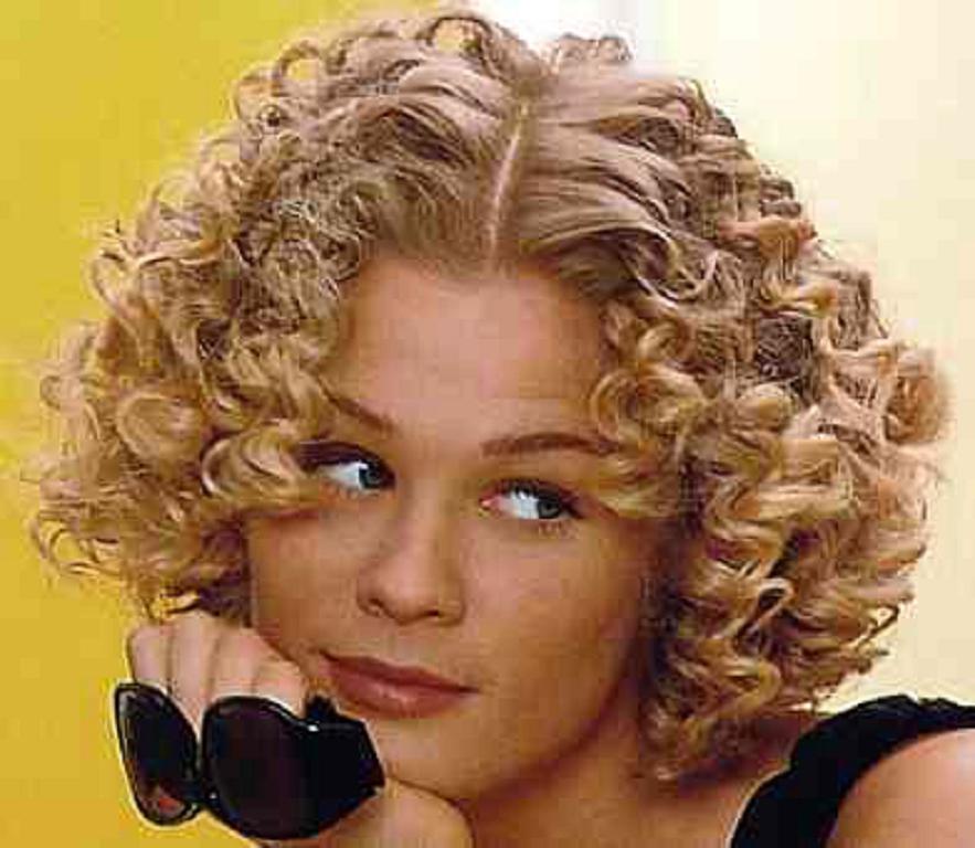 Clásico y sencillo peinados para pelo corto rizado Fotos de tendencias de color de pelo - Peinados cortos pelo rizado 2013 fotos - Peinados cortes ...