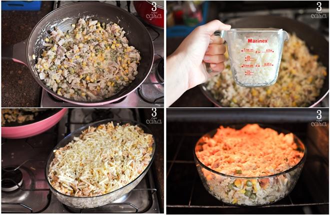 arroz de forno passo a passo