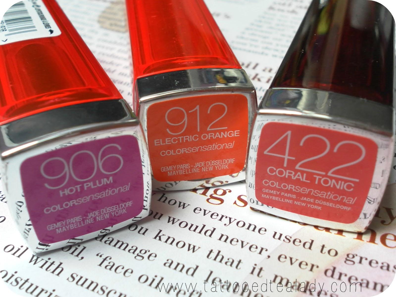 Favourite Drugstore Lipsticks - MAC dupes - Tattooed Tealady