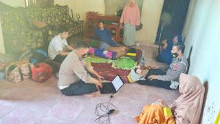 Implementasi Program Traffic Accident Back to Home,Kanit Laka Datangi Rumah Korban dan Saksi