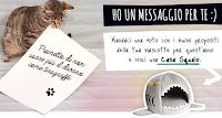 Logo Vinci gratis una ''Casa squalo'' per il tuo gatto