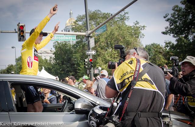 Rohan Dennis wins in Denver Colorado USA Pro Challenge