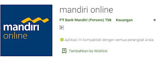 Aplikasi Mandiri Online
