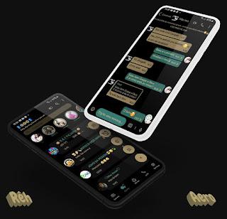 Dark Black Theme For YOWhatsApp & Aero WhatsApp By Reh