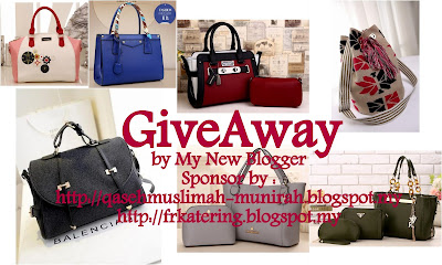 #2 GiveAway by My New Blogger