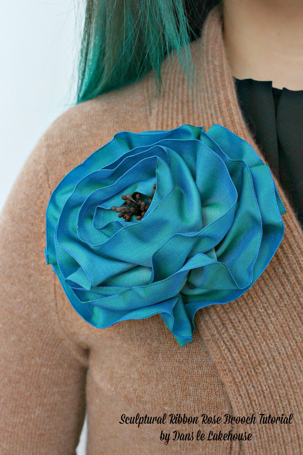 How to make a ribbon rose