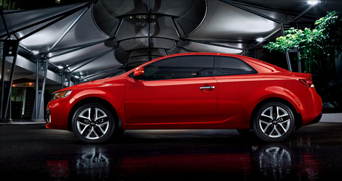 the new kia coreto forte koup features and pictures cars. Black Bedroom Furniture Sets. Home Design Ideas