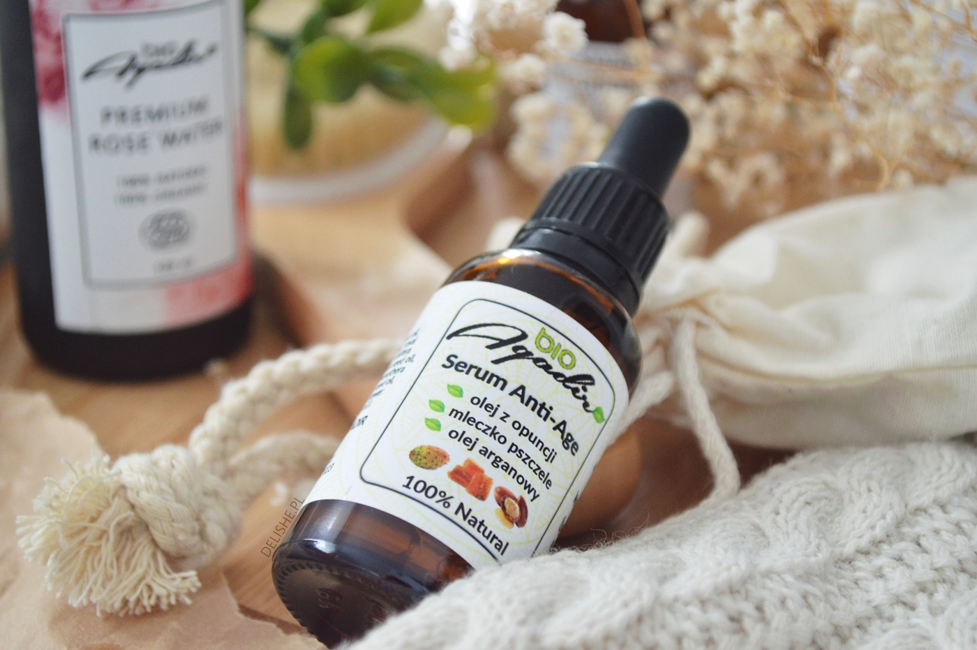 Bio Agadir serum z olejem z opuncji figowej