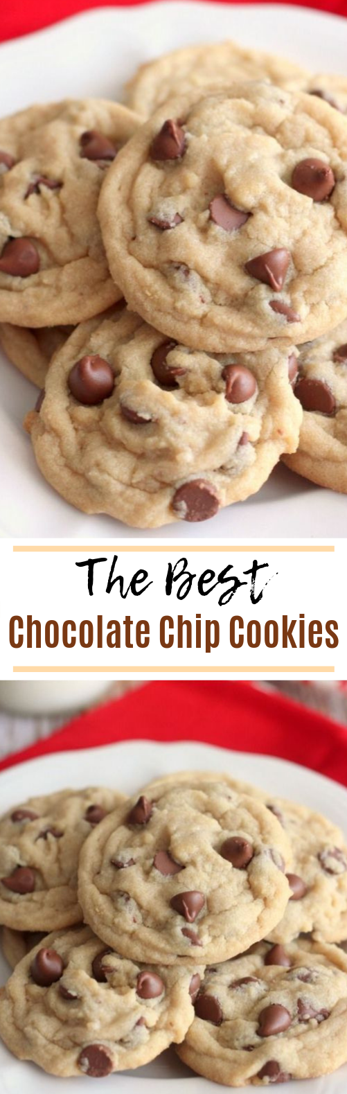 Chocolate Chip Cookies #cookies #desserts