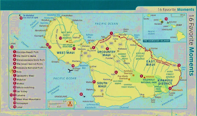 Pdf Images Of The Hawaii Islands Map