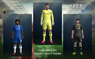 Kits Chelsea 2016 - 2017 Pes 2013 By Kikejg17
