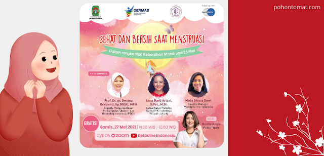 kebersihan saat menstruasi