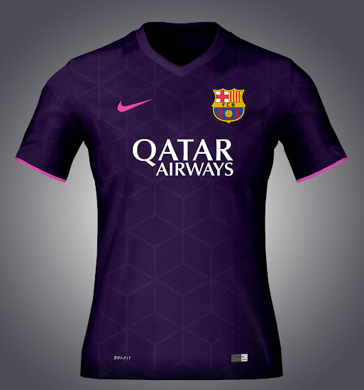Combining the main colors purple and pink vi90 s fc barcelona concept
