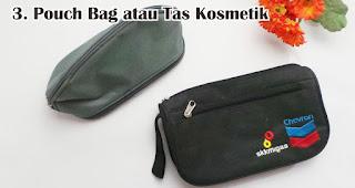 Pouch Bag atau Tas Kosmetik cocok untuk dijadikan souvenir