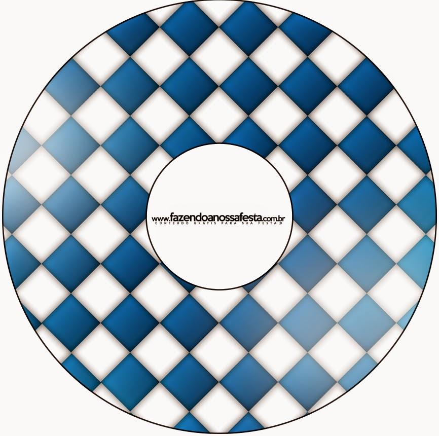 Etiquetas de Fiesta de la Cerveza para CD's.