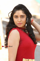 Telugu Actress Zahida Sam Latest Pos in Red Gown at RF Films New Movie Opening  0014.JPG