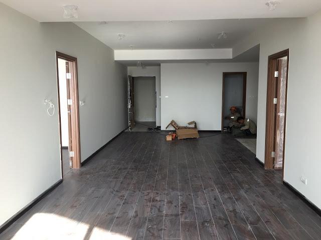 Căn hộ 133m2  Discovery complex hoàn thiện nội thất cơ bản