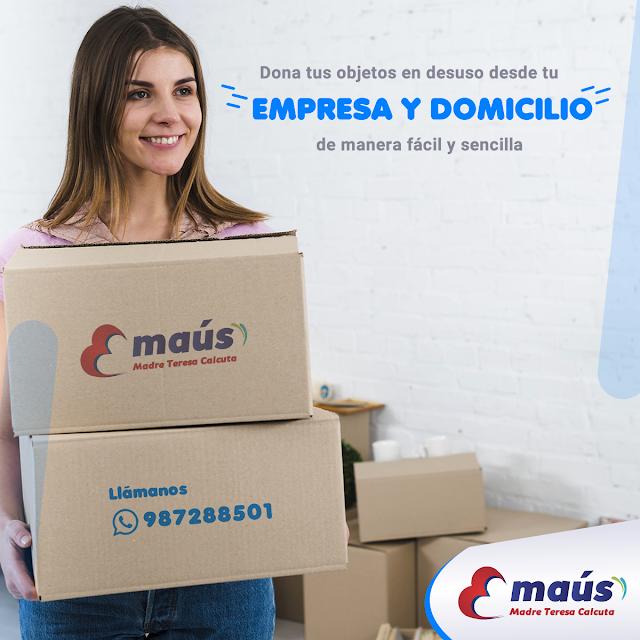 Dona desde tu empresa y domicilio en Lima