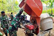 Tentara Datangkan Teknisi Untuk Servis Molen