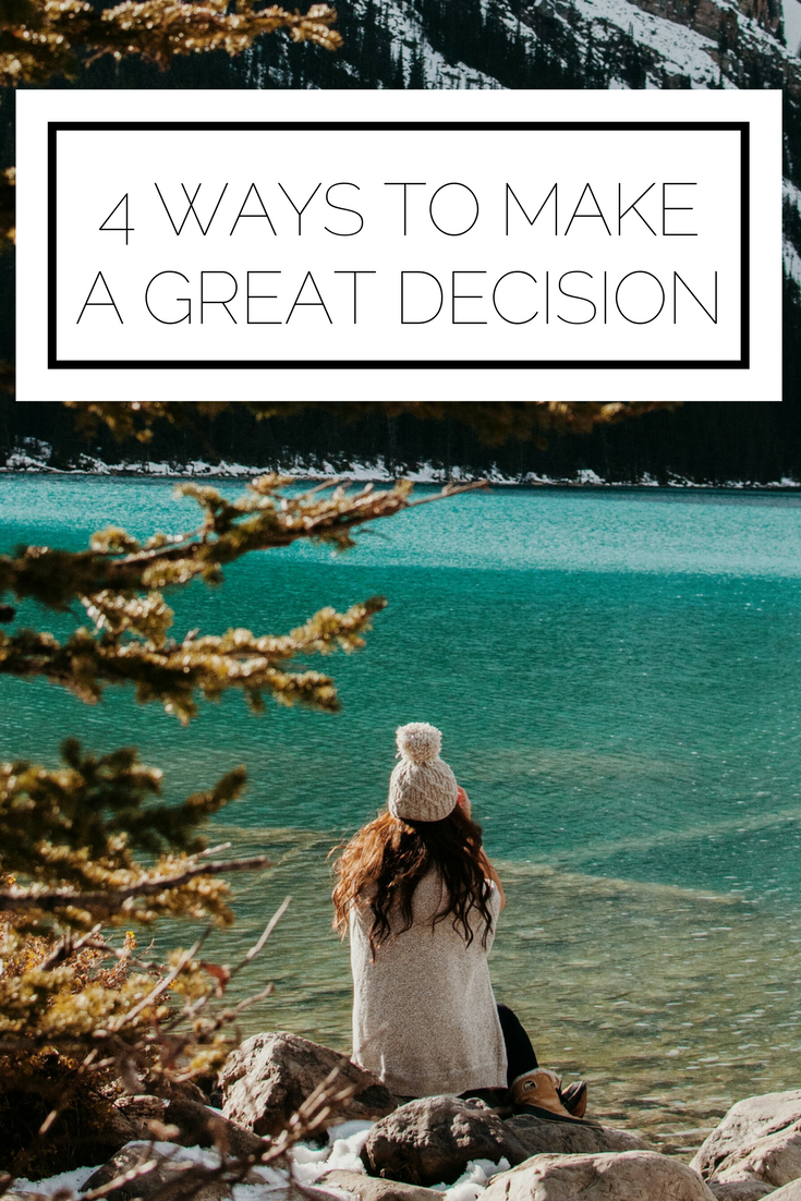 Click to read now or pin to save for later! Decisions can be tough, but they don't have to be! Here's the deal, you can consider many sides of the issue, and talk through them with others