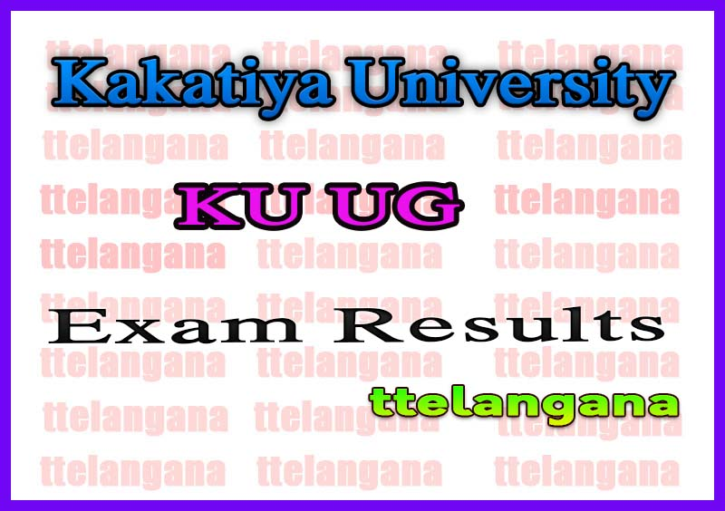 Kakatiya University KU Degree /UG Supply Exam Results