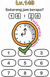 Jawaban Brain Out Level 140 Sekarang Jam Berapa?
