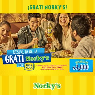[Sorteo] Gana una de las 50 Gratis de S/3000 - La Grati Norkys