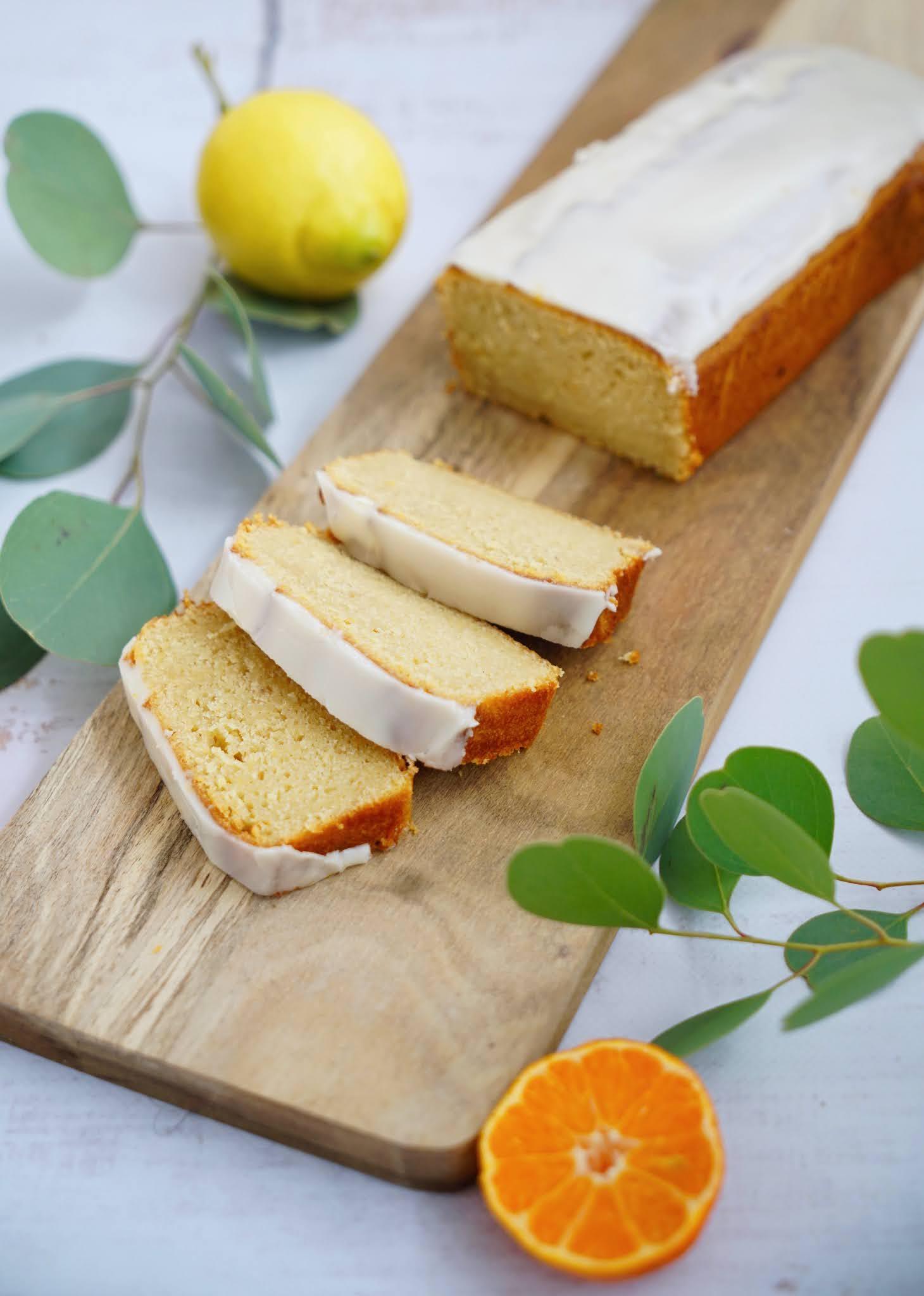 clémentines , citrons , cake super moelleux