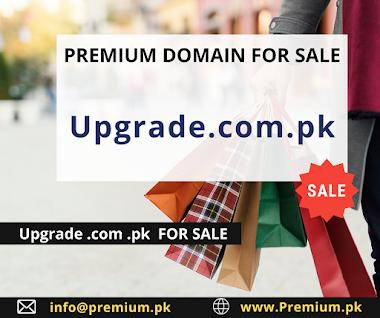 Upgrade.com.pk FOR SALE