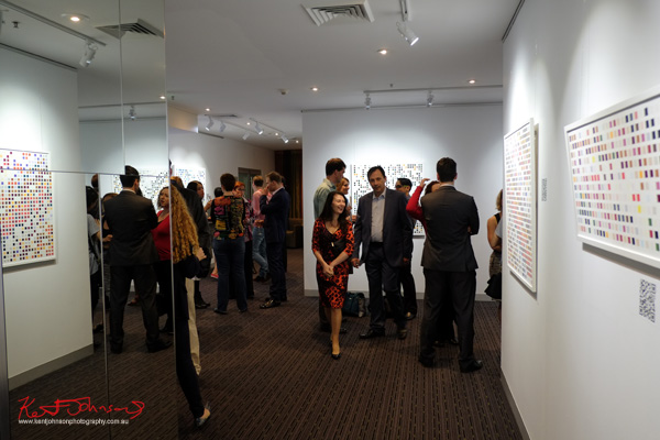 Square Series, opening night, 01 October  01 - 29 October 2015 Sam Holiday. Photography by Kent Johnson for Street Fashion Sydney.