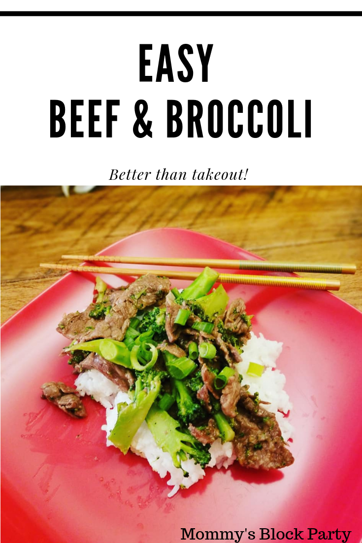 Easy Beef & Broccoli (Better Than Takeout!)