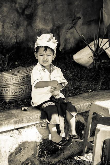 Cérémonie à Candikuning - Bali