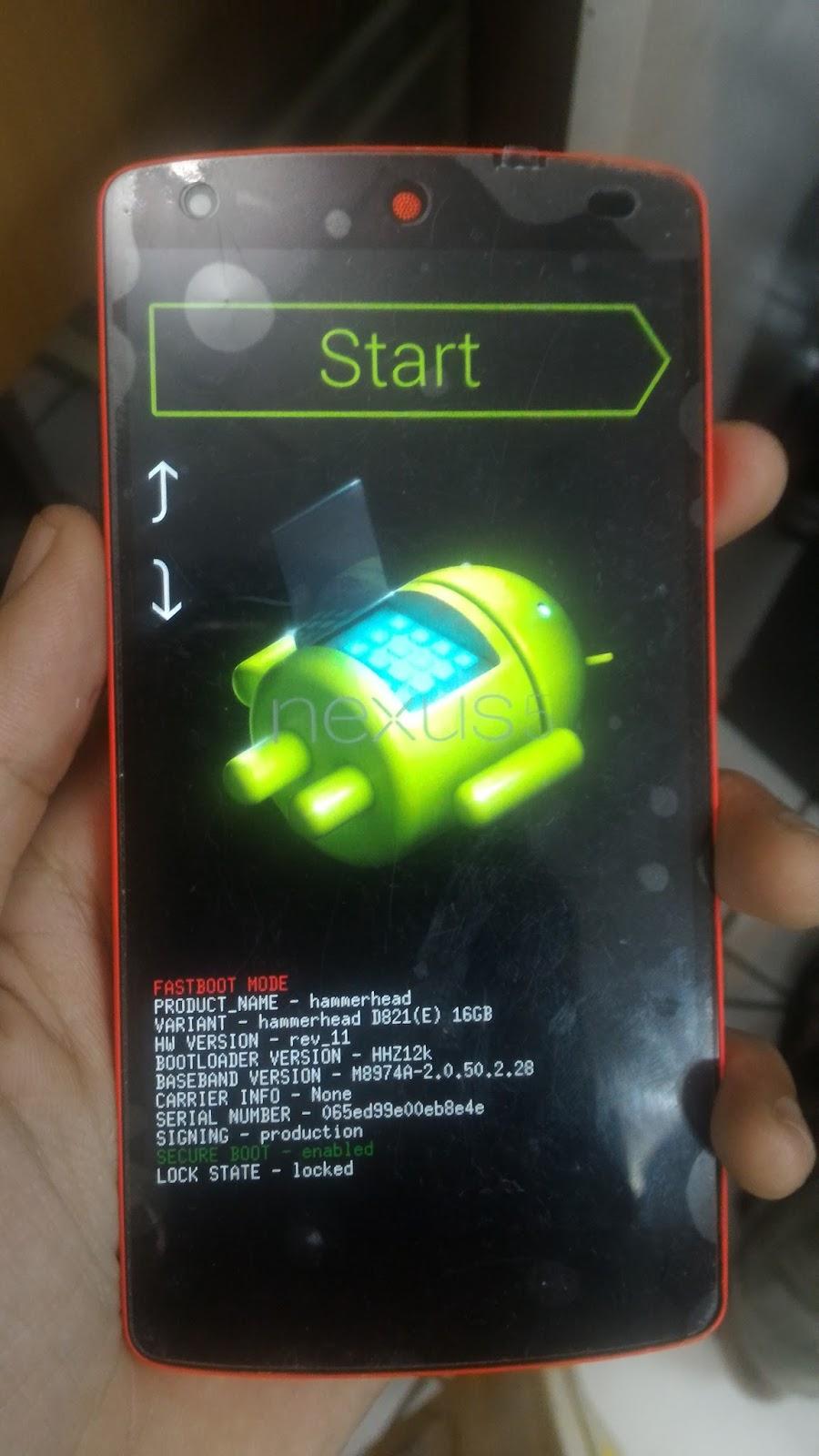Cara Mengatasi Lg Nexus 5 Bootloop Yang Ter Lock Bootloader War Drooid