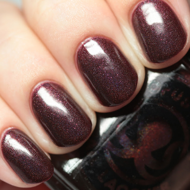 Octopus Party Lacquer Red Blood Sells
